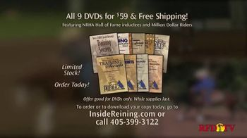 Inside Reining TV Spot, 'Training DVDs' - Thumbnail 1