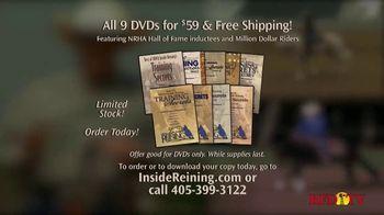 Inside Reining TV Spot, 'Training DVDs' - Thumbnail 2