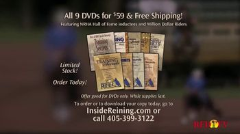 Inside Reining TV Spot, 'Training DVDs'