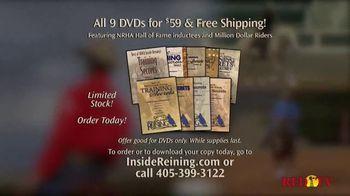 Inside Reining TV Spot, 'Training DVDs' - Thumbnail 5