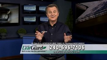 LeafGuard of DC $99 Install Sale TV Spot, 'Good Housekeeping Seal'