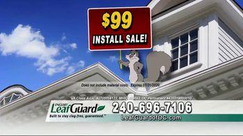 LeafGuard of DC $99 Install Sale TV Spot, 'Good Housekeeping Seal' - Thumbnail 5