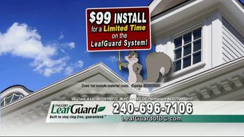 LeafGuard of DC $99 Install Sale TV Spot, 'Good Housekeeping Seal' - Thumbnail 6