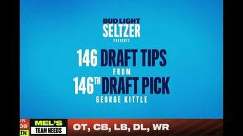 Bud Light Seltzer TV Spot, 'NFL Draft Tip #11: Air Hugs' Featuring George Kittle - Thumbnail 2