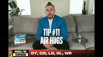 Bud Light Seltzer TV Spot, 'NFL Draft Tip #11: Air Hugs' Featuring George Kittle - Thumbnail 3