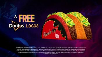 Taco Bell TV Spot, 'Free Doritos Locos Tacos: New Routines' - Thumbnail 6