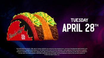 Taco Bell TV Spot, 'Free Doritos Locos Tacos: New Routines' - Thumbnail 8