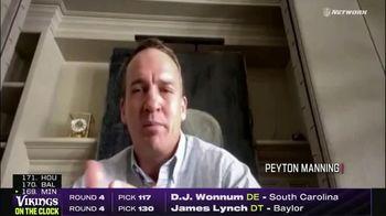 NFL Draft-A-Thon TV Spot, 'COVID-19: Stay Safe' Featuring Michael Vick, Peyton Manning, Brett Favre - Thumbnail 5