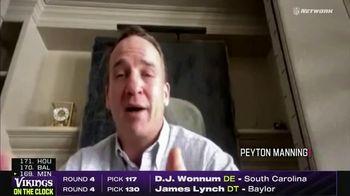 NFL Draft-A-Thon TV Spot, 'COVID-19: Stay Safe' Featuring Michael Vick, Peyton Manning, Brett Favre - Thumbnail 6