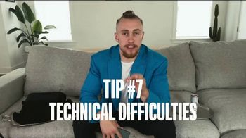 Bud Light Seltzer TV Spot, 'NFL Draft Tip #7: Technical Difficulties' Featuring George Kittle - Thumbnail 1