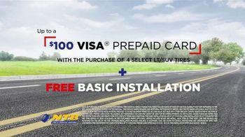National Tire & Battery Big Brands Bonus Month TV Spot, 'Prepaid Card and Free Installation' - Thumbnail 10