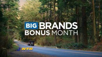 National Tire & Battery Big Brands Bonus Month TV Spot, 'Prepaid Card and Free Installation'