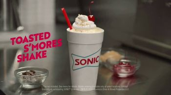 Sonic Drive-In Toasted S'Mores Shake TV Spot, 'Ingredients' - Thumbnail 8
