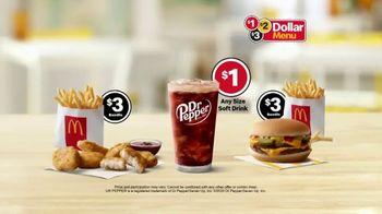 McDonald's $1 $2 $3 Dollar Menu TV Spot, 'Crispy or Sizzling: Fries' - Thumbnail 6