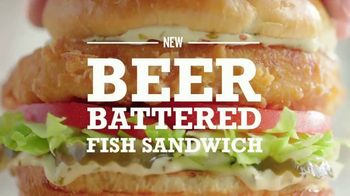 Arby's Beer Battered Fish Sandwich TV Spot, 'Competition' Song by YOGI - Thumbnail 8
