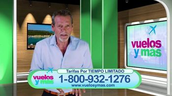 Vuelosymas.com TV Spot, 'Tarifas más bajas' [Spanish]