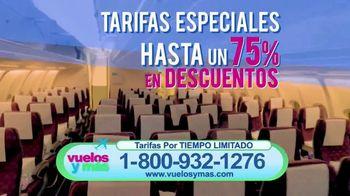 Vuelosymas.com TV Spot, 'Tarifas más bajas' [Spanish] - Thumbnail 3