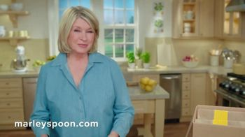 Marley Spoon TV Spot, \'Delicious and Wholesome\' Featuring Martha Stewart