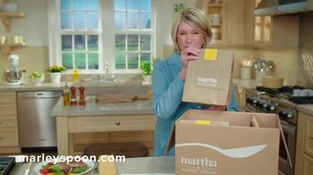 Martha & Marley Spoon TV Spot, 'Delicious and Wholesome' Featuring Martha Stewart - Thumbnail 4