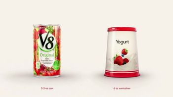 V8 Juice TV Spot, 'V8 vs. Yogurt'