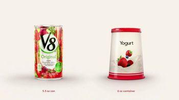 V8 Juice TV Spot, 'V8 vs. Yogurt' - Thumbnail 1
