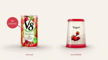 V8 Juice TV Spot, 'V8 vs. Yogurt' - Thumbnail 3