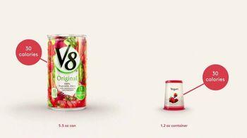 V8 Juice TV Spot, 'V8 vs. Yogurt' - Thumbnail 4