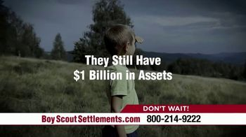Pintas & Mullins Law Firm TV Spot, 'Boy Scout Settlements: Abused by a Leader' - Thumbnail 3
