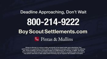 Pintas & Mullins Law Firm TV Spot, 'Boy Scout Settlements: Abused by a Leader' - Thumbnail 9