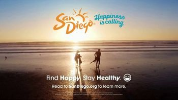 San Diego Tourism Authority TV Spot, 'Happiness is Calling You Back to San Diego' - Thumbnail 8