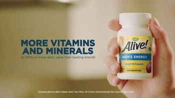 Nature's Way Alive! Multivitamins TV Spot, 'Alive & Thriving: Smiles' - Thumbnail 6