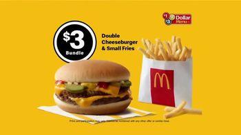 McDonald's $1 $2 $3 Dollar Menu TV Spot, 'Too Good to Last: Double Cheeseburger & Fries' - Thumbnail 4