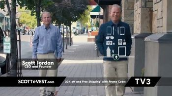 SCOTTeVEST TV Spot, 'Pockets: 20 Percent Off and Free Shipping'
