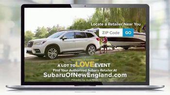 Subaru A Lot to Love Event TV Spot, 'Shop Online: Ascent' [T2] - Thumbnail 8
