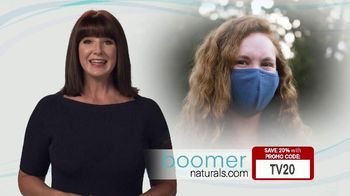 Boomer Naturals Multi-Use Protective Face Masks TV Spot, 'Comfortable and Breathable'