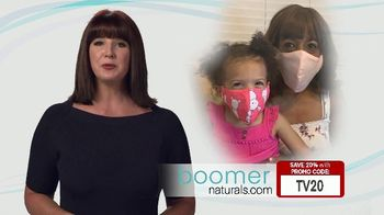 Boomer Naturals Multi-Use Protective Face Masks TV Spot, 'Comfortable and Breathable' - Thumbnail 2