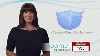 Boomer Naturals Multi-Use Protective Face Masks TV Spot, 'Comfortable and Breathable' - Thumbnail 3