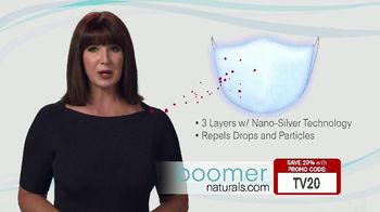 Boomer Naturals Multi-Use Protective Face Masks TV Spot, 'Comfortable and Breathable' - Thumbnail 4