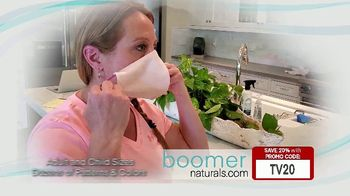 Boomer Naturals Multi-Use Protective Face Masks TV Spot, 'Comfortable and Breathable' - Thumbnail 5
