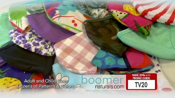 Boomer Naturals Multi-Use Protective Face Masks TV Spot, 'Comfortable and Breathable' - Thumbnail 6