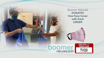 Boomer Naturals Multi-Use Protective Face Masks TV Spot, 'Comfortable and Breathable' - Thumbnail 8