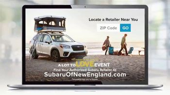 Subaru A Lot to Love Event TV Spot, 'Shop Online: Forester' [T2] - Thumbnail 7