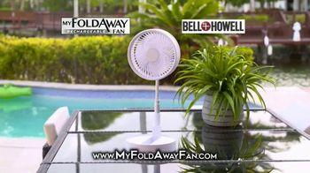 My Foldaway Fan TV Spot, 'Compact Cordless Fan' - Thumbnail 2