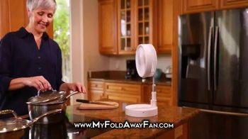 My Foldaway Fan TV Spot, 'Compact Cordless Fan' - Thumbnail 4