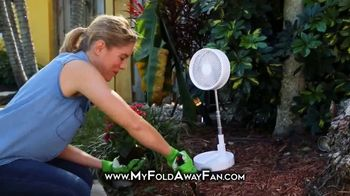 My Foldaway Fan TV Spot, 'Compact Cordless Fan' - Thumbnail 5