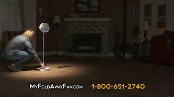 My Foldaway Fan TV Spot, 'Compact Cordless Fan' - Thumbnail 6