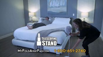 My Foldaway Fan TV Spot, 'Compact Cordless Fan' - Thumbnail 7