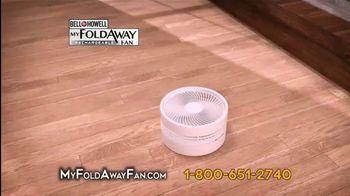 My Foldaway Fan TV Spot, 'Compact Cordless Fan' - Thumbnail 8