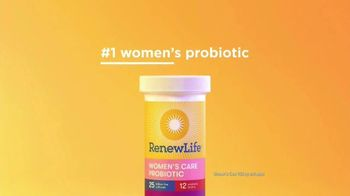 Renew Life Ultimate Flora Women's Care Probiotic TV Spot, 'We Know Women Are Different' - Thumbnail 2