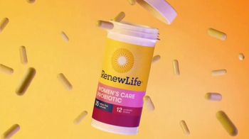 Renew Life Ultimate Flora Women's Care Probiotic TV Spot, 'We Know Women Are Different' - Thumbnail 5
